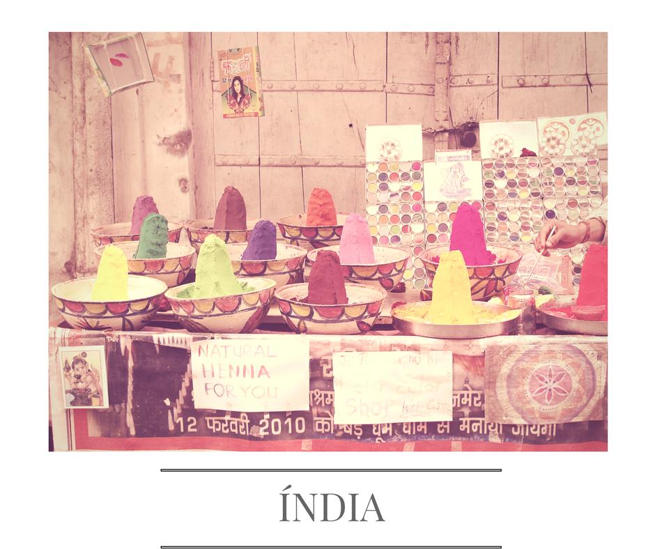 A minha Índia